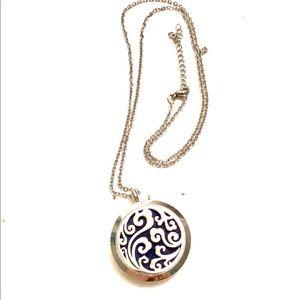 Essential oils locket necklace Aromatherapy